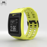nike gps sportwatch 3D model