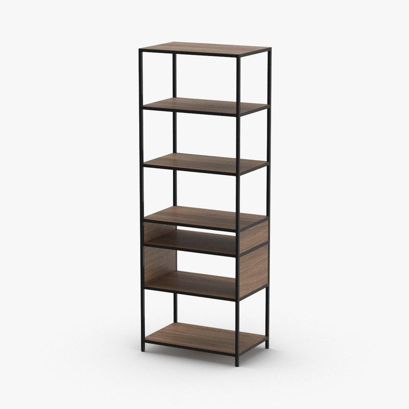 contemporary-bookcase model