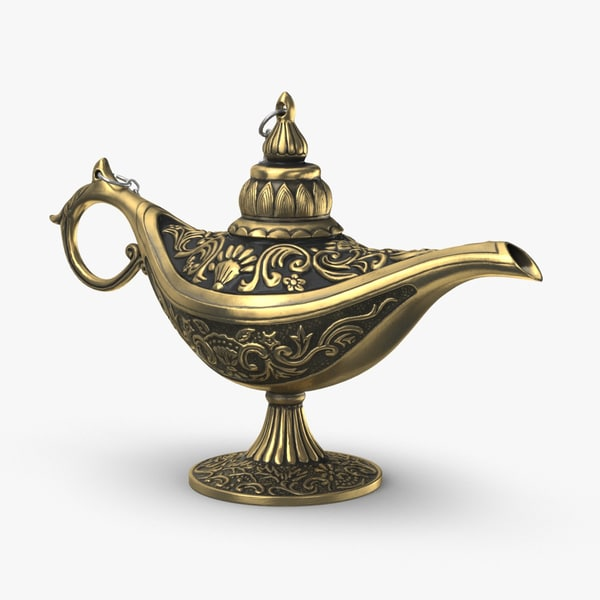 magic-lamp-02 3D model