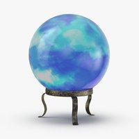 crystal-ball-02---blue 3D