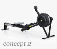 Indoor Rower Concept 2 Model D