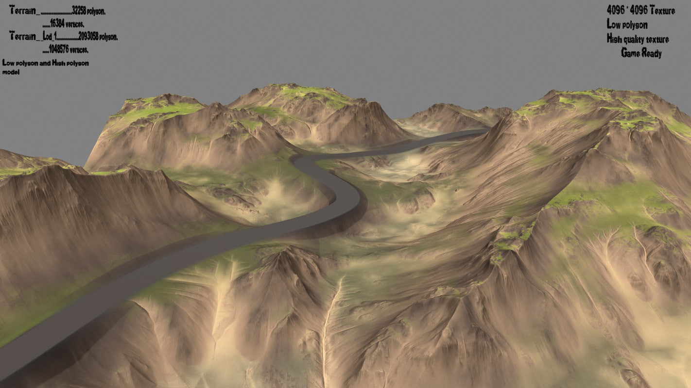 terrain 3D