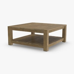 3D contemporary-coffee-table
