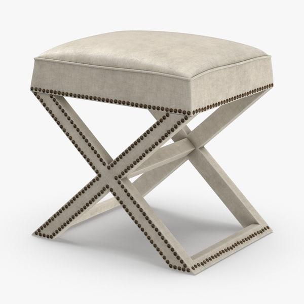 transitional-stool 3D