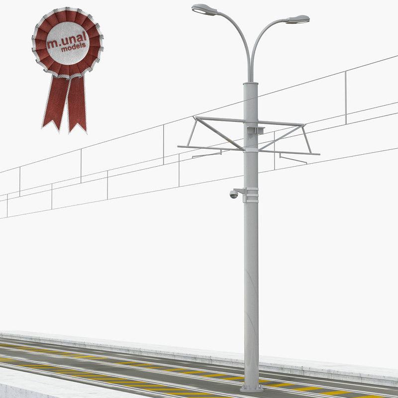 3D tram road tr