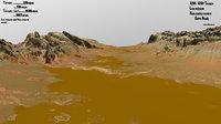 3D terrain mars