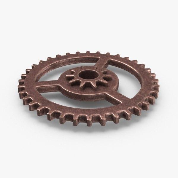 vintage-gears---gear-1 3D