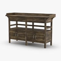 3D transitional-sideboard