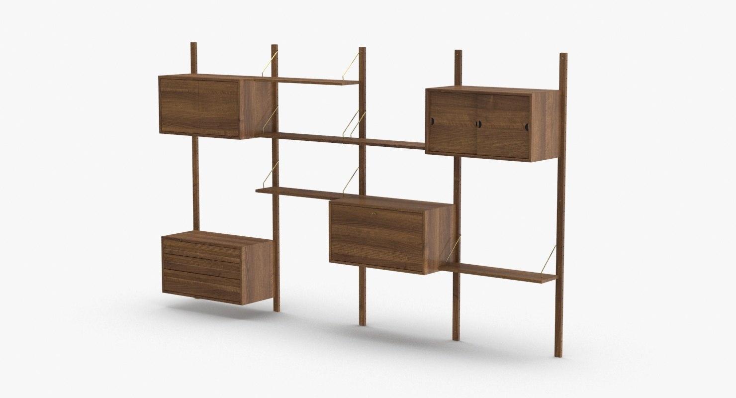 3D modern-shelving-system