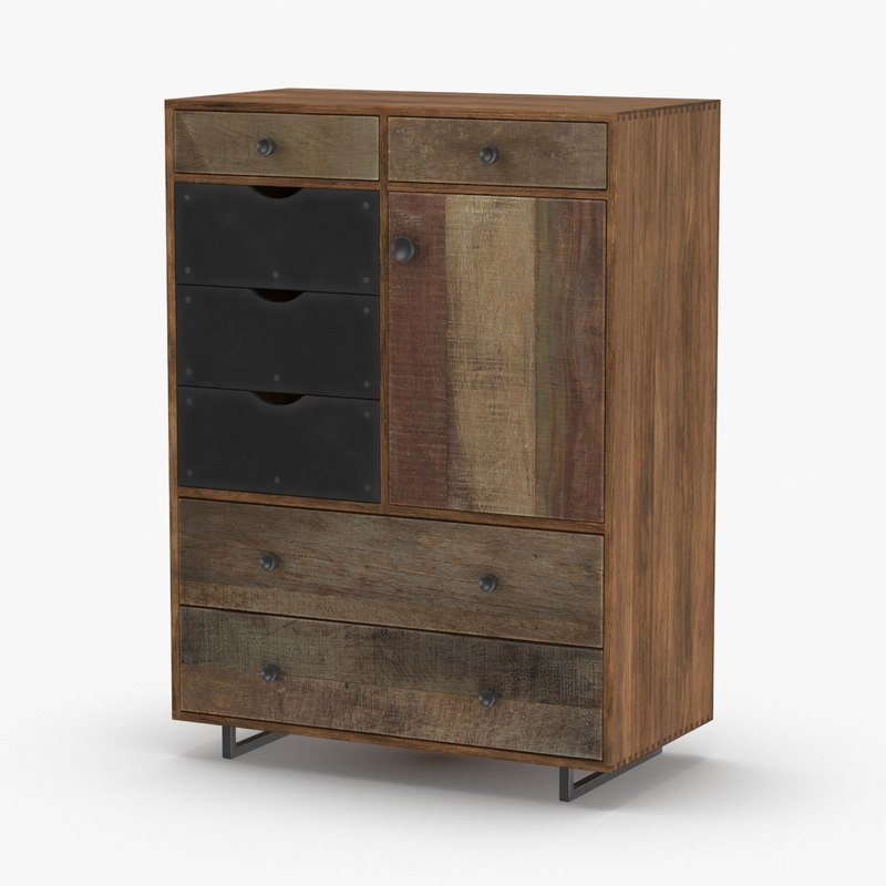 contemporary-chest 3D