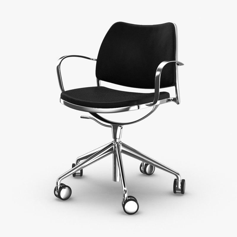 modern-office-chair 3D model
