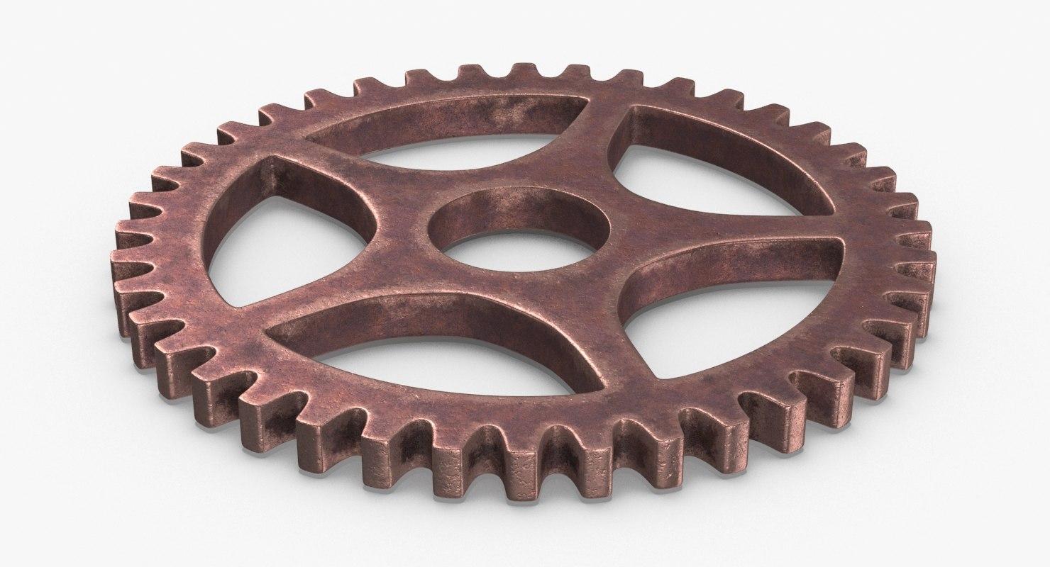 vintage-gears---gear-4 3D model