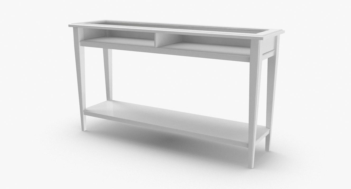 3D scandinavian-console-table