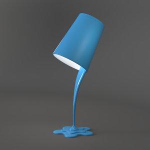 3D model woopsy table lamp