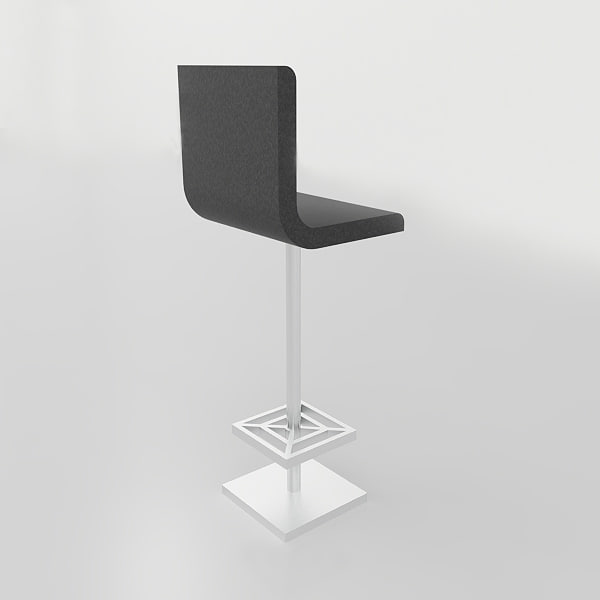 stool revit family 3D