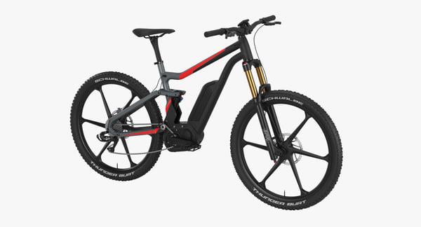 3D electric bike model