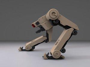 legs robot 3D model