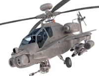 boeing ah-64 apache 3D model
