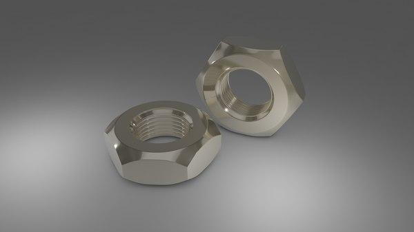 3D steel hex