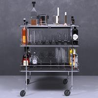 bottle alcohol model