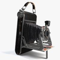 lumiere folding camera 3D model