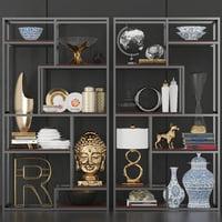3D rack shelves