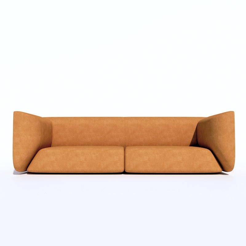 3D cozy sofa mario ferrarini
