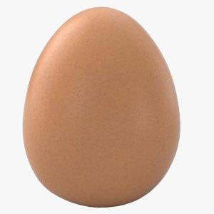 3D model perfect egg