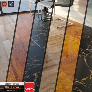 3D tile cosmo stone set