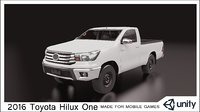 2016 Toyota Hilux one cabin