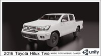 2016 Toyota Hilux Two Cabin