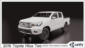 3D car mobile games model