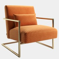 Armchair Kare Sessel Living Vegas Orange