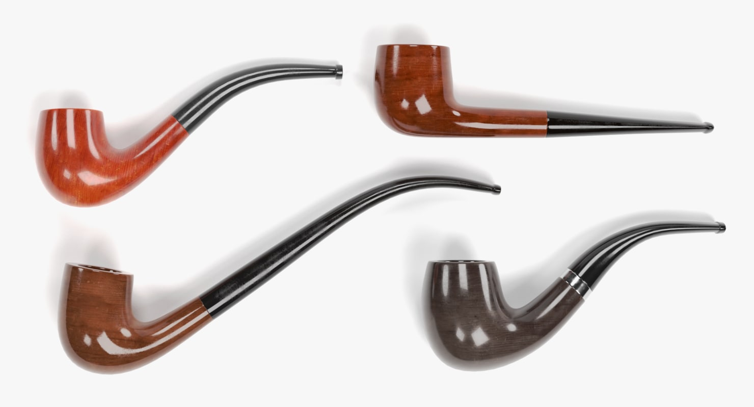 smoking pipes 3D