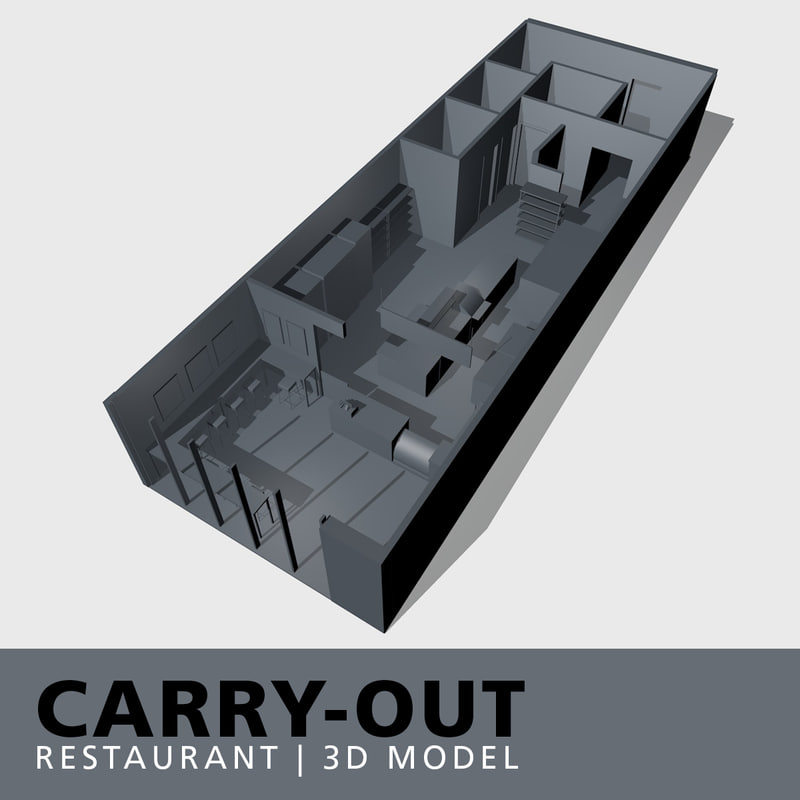 carry-out restaurant model