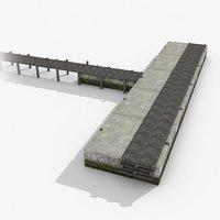 3D pier 01 model