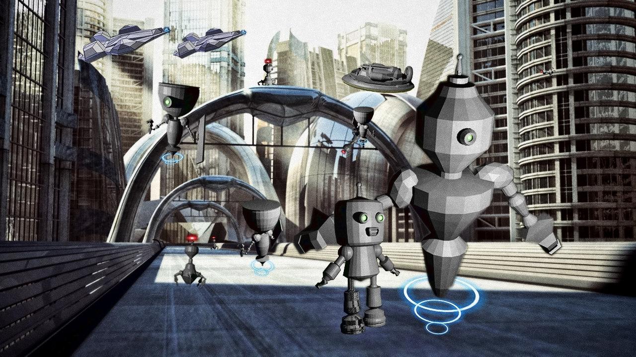robot world 3D model