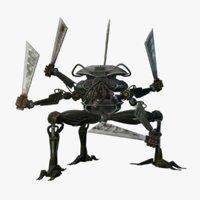 3D model conceptual robot