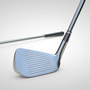 golf wedge 3D model