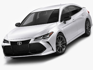 3D toyota avalon touring model