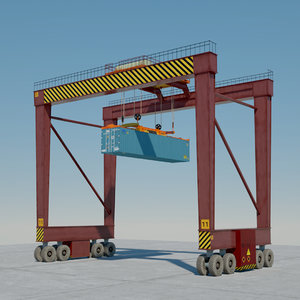 3D crane container