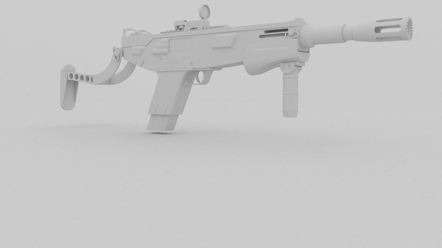 3D model mag 7