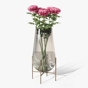 echasse vase 3D model