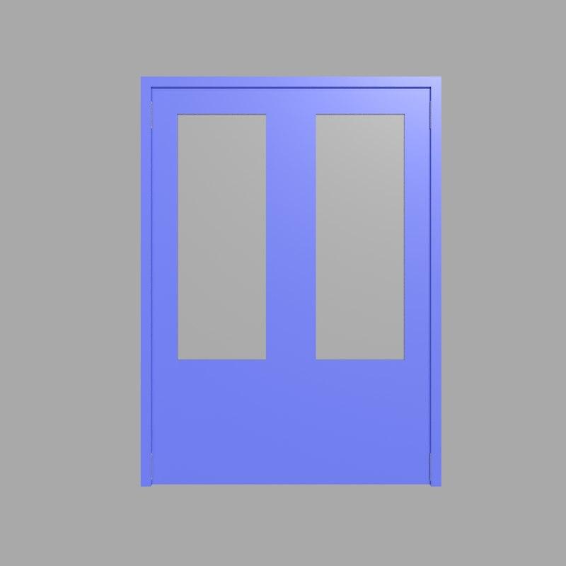 hospital door model