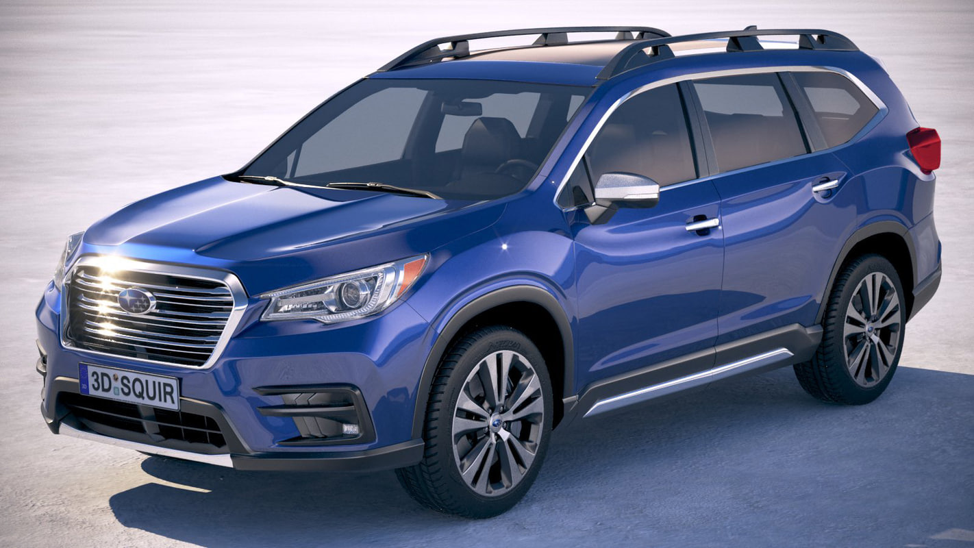 subaru ascent 2019 3D