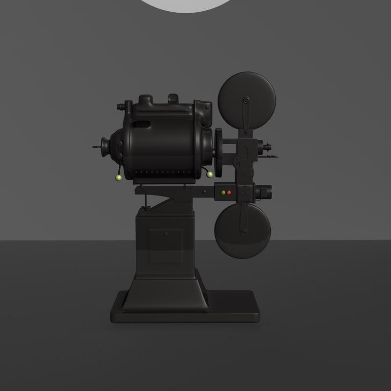 classic projector 3D