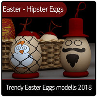 Easter - Hipster Eggs