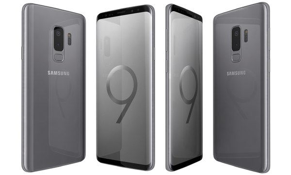 samsung galaxy s9 titanium 3D model