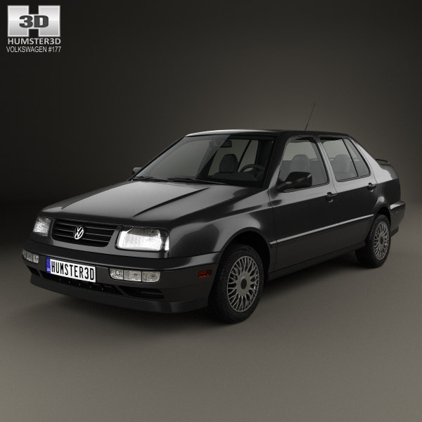 volkswagen jetta 1992 3D