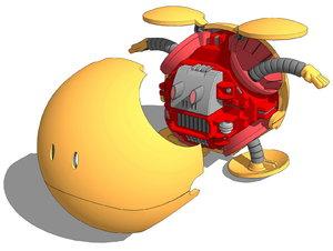 haro gundam 3D model